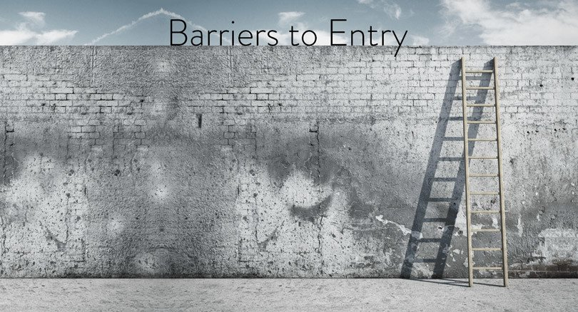 entry barriers Are these 5 barriers to starting a business preventing you from make your dream a reality find out how to conquer each of these startup challenges.