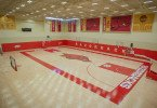 Team investment: Men's basketball practice court