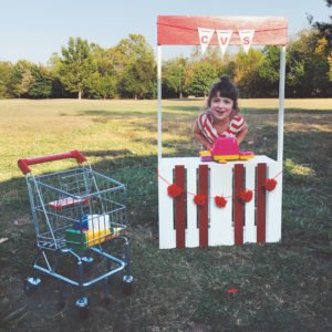 Iris Gill of Fayetteville had a CVS-themed fourth birthday party. Her mom posted photos of the party on her blog, which were picked up by ABC news, Huffington Post, and other national media outlets.