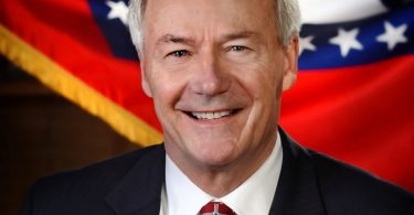 Official portrait of Arkansas Gov. Asa Hutchinson