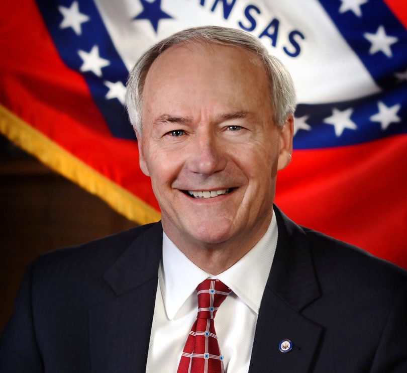 Asa Hutchinson officia portrait