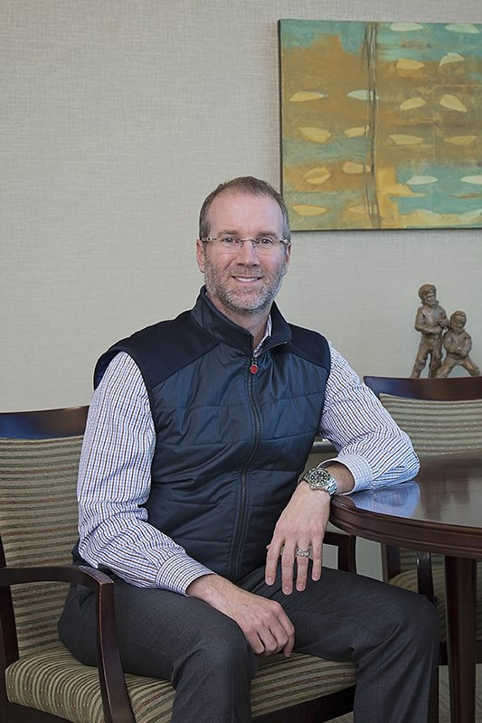 Patrick Swope, President & CEO of Legacy National Bank