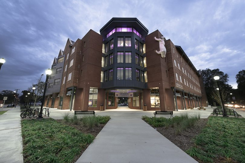 UCA's Donaghey Hall is home to the UCA Makerspace and the Conductor, a hub for Arkansas business