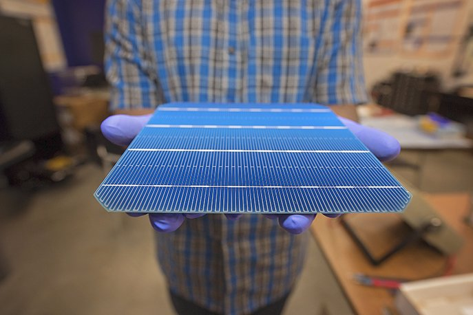Picasolar invented a process to increase the efficiency of silicon-based solar cells