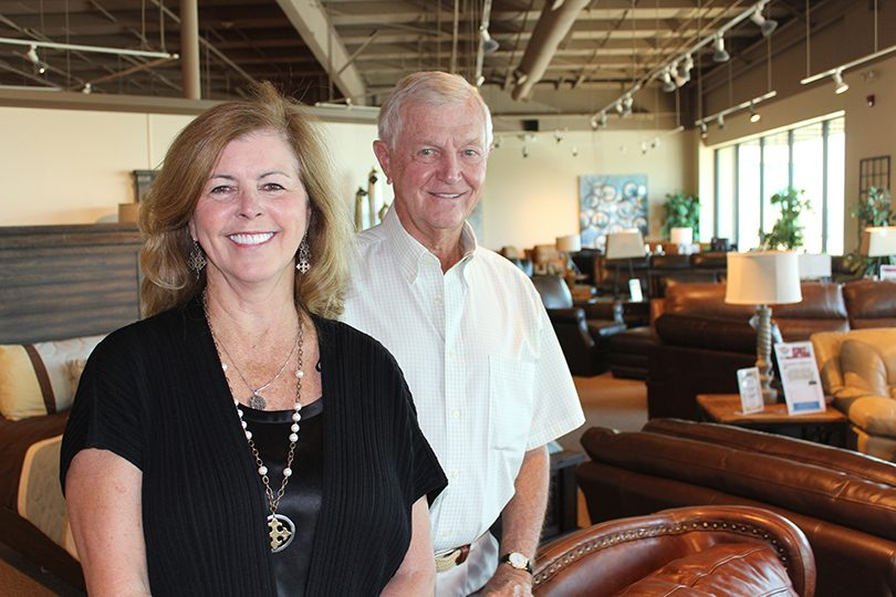 Hank and Cathy Browne of Hank's Fine Furniture
