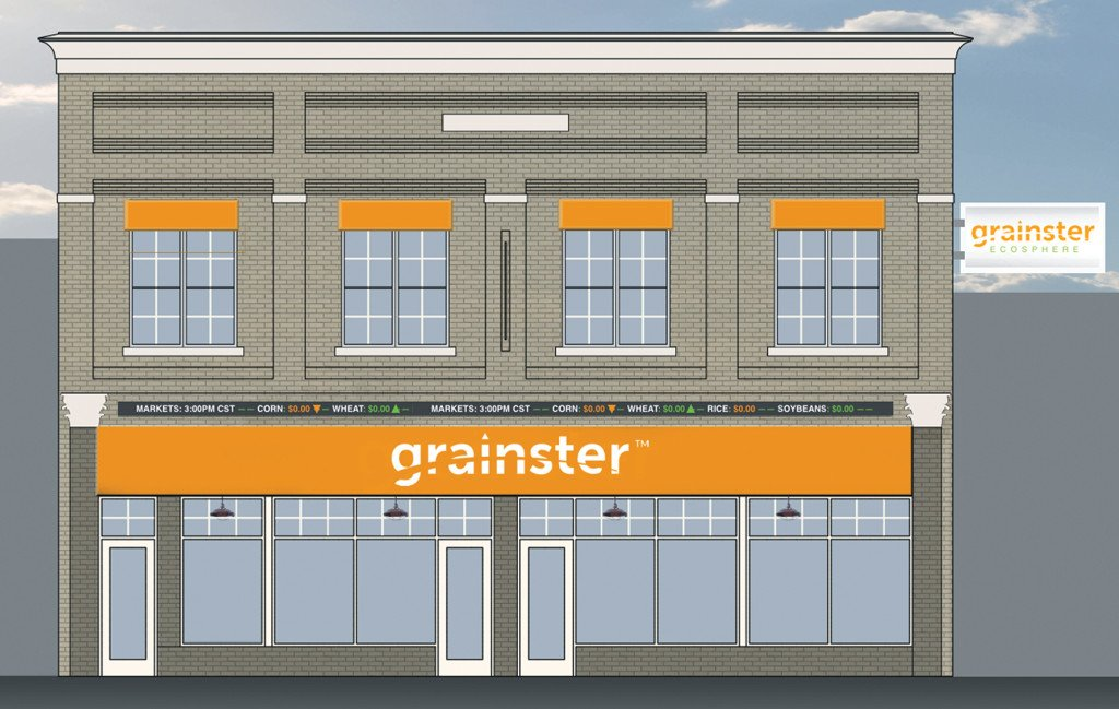 GRAINSTER - The tech startup is moving into the American Management  building on Oak Street in downtown Conway. Rendering courtesy of Grainster.