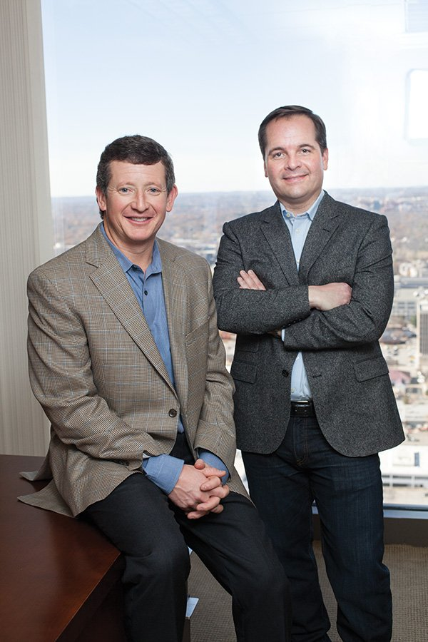 CapRocq founders Kevin Huchingson and Franklin McLarty