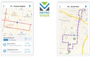 Rock Region Metro recently launched a smartphone app providing real-time information on bus stops, routes, arrivals and more.
