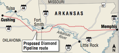 Psc Okays Pipeline Route Through Arkansas Amp