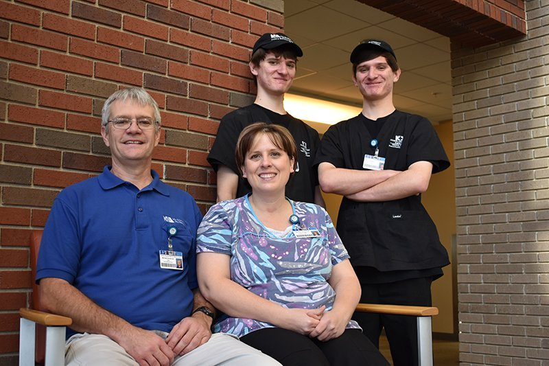 The Henderson Family works at North Arkansas Regional Medical Center