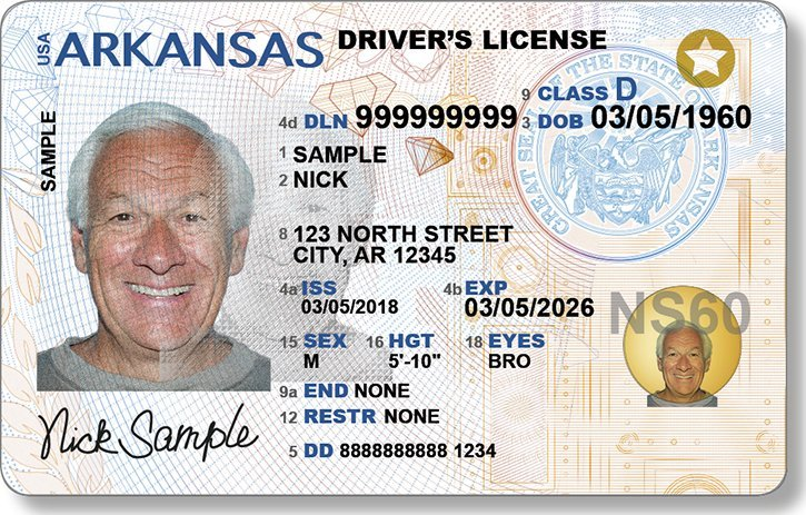 Out Driver's Arkansas Amp To New Licenses Roll -