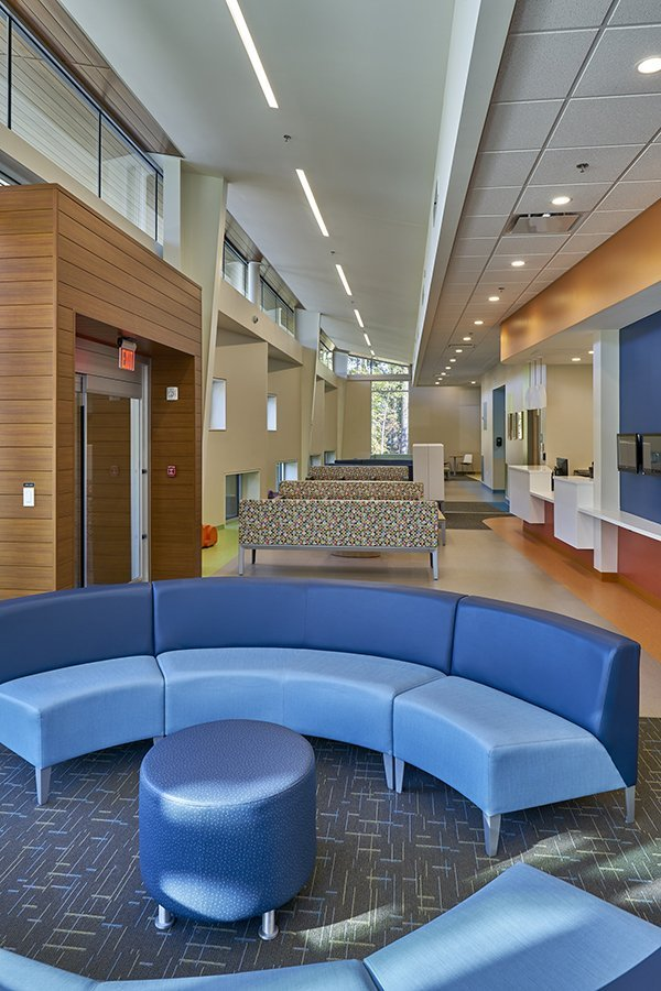 Arkansas Children S Hospital Southwest Little Rock Community Clinic Team Work Area Photo By Ken West Interior Design