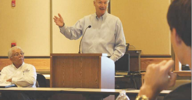 Hutchinson meets with Farmers 2017